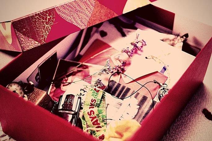 Uma caixa surpresa para alegrar o dia da sua namorada