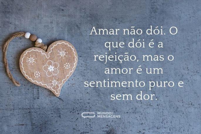 Amar não dói