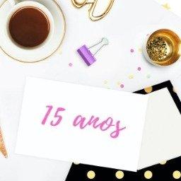 30 frases para convite de 15 anos para convidar todos para uma festa inesquecível