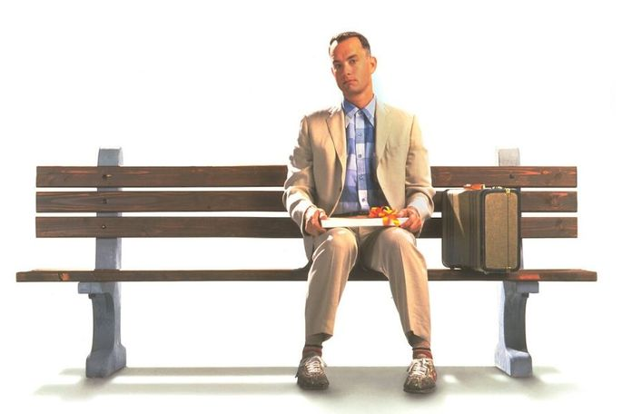 Oscar de melhor filme em 1994, Forrest Gump: o contador de histórias foi escrito por Winston Groom e dirigido por Robert Zemeckis