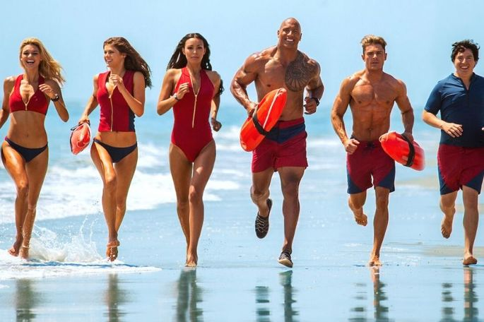 Baywatch: a praia vai ficar pequena, dirigido por Seth Gordon, foi estreado em 2017