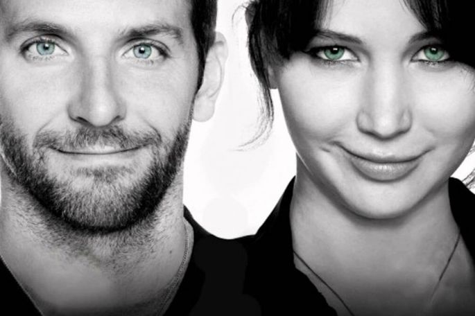 O lado bom da vida é escrito e dirigido por David O. Russell, baseado no romance de Matthew Quick e estrelado por Bradley Cooper e Jennifer Lawrence