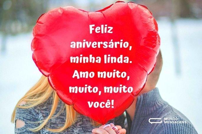 Feliz aniversário, minha linda. Amo muito, muito, muito você!
