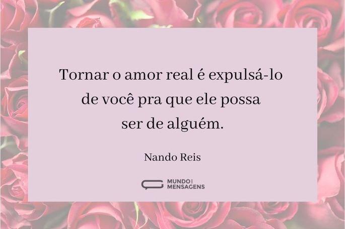 tornar o amor real