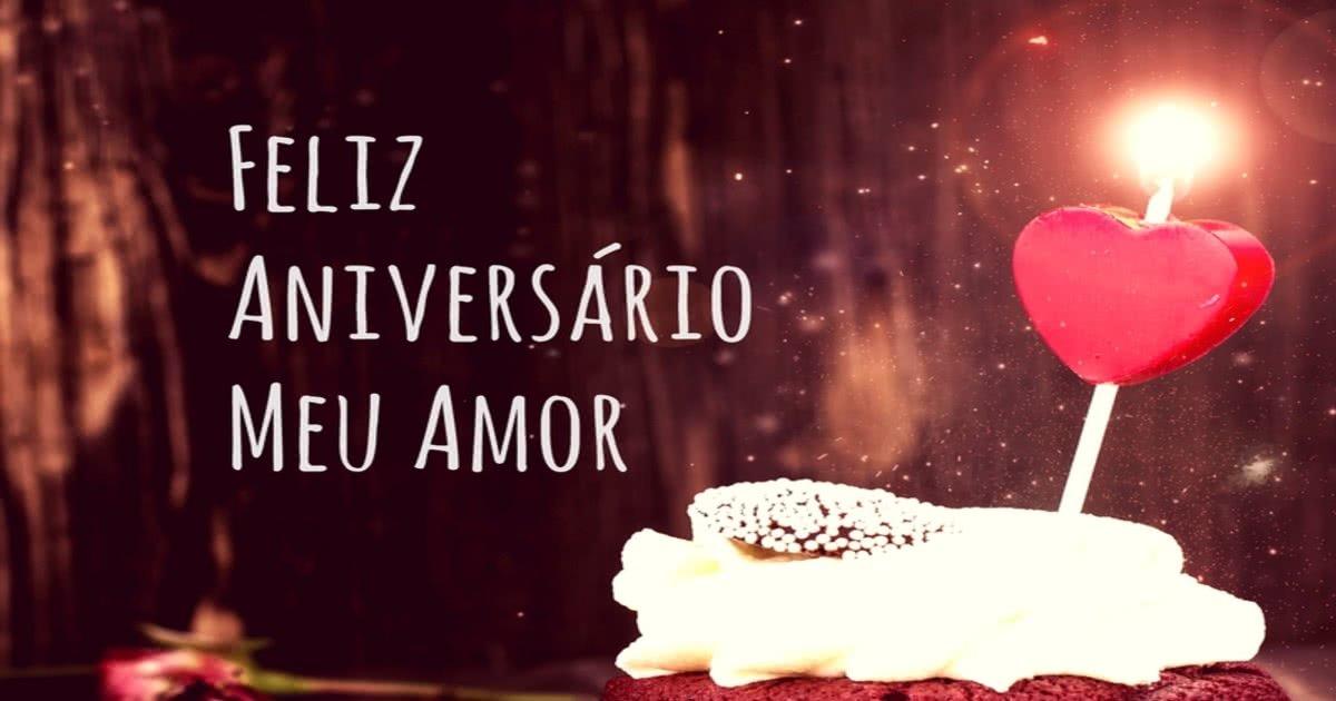 Feliz Aniversario Meu Amor Mundo Das Mensagens
