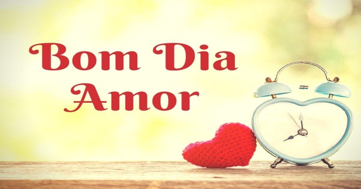 Bom Dia Amor Mensagens De Bom Dia Romanticas Mundo Das Mensagens