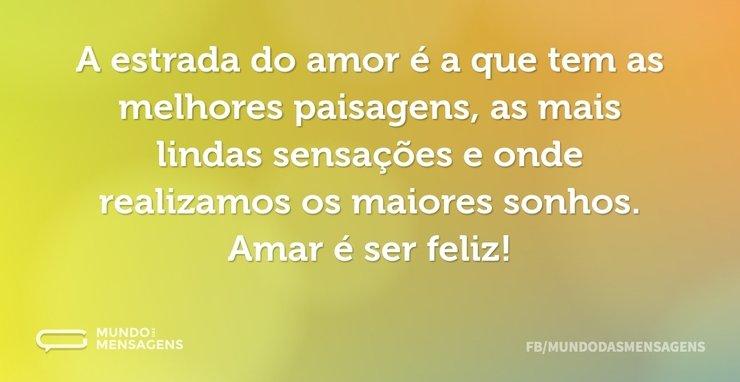 As Paisagens Do Amor Mundo Das Mensagens