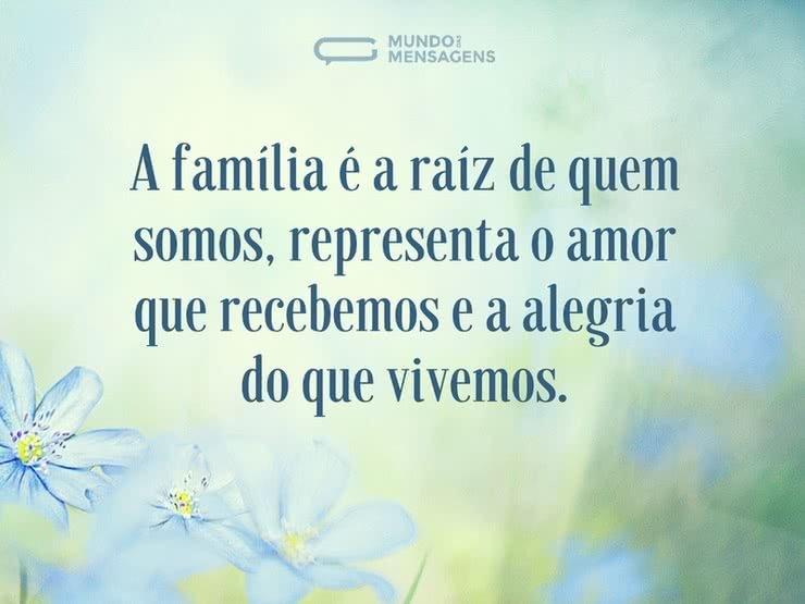 O Amor Maior De Uma Família: A Raíz De Uma Família