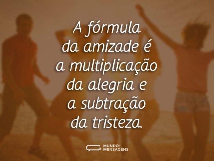 A Fórmula Da Amizade