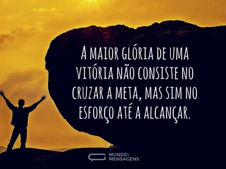 Por Miltinho De Carvalho Uma Mensagem: A Glória Da Vitória
