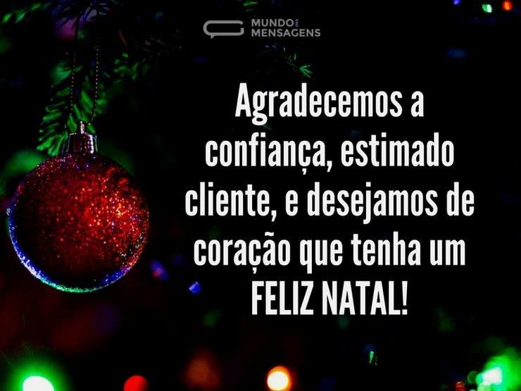 Desejos De Natal Para Cliente Mundo Das Mensagens