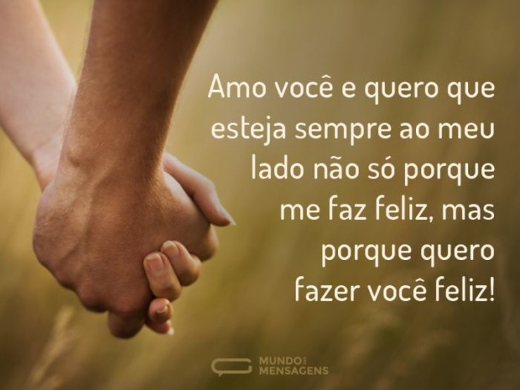 Para A Pessoa Mais Especial Do Mundo Que é Vc Meu Amor: Quero Você Sempre Comigo