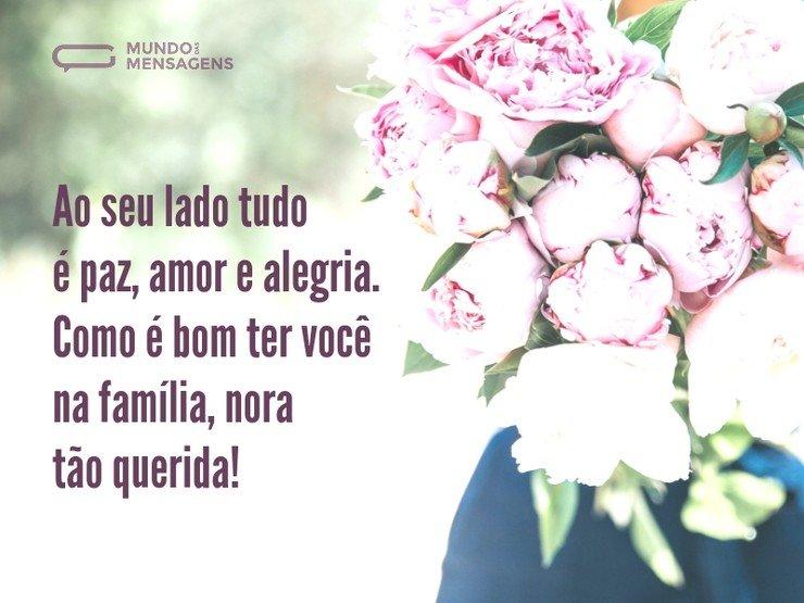 Nora Tão Querida, Como é Bom Ter Você Na Família