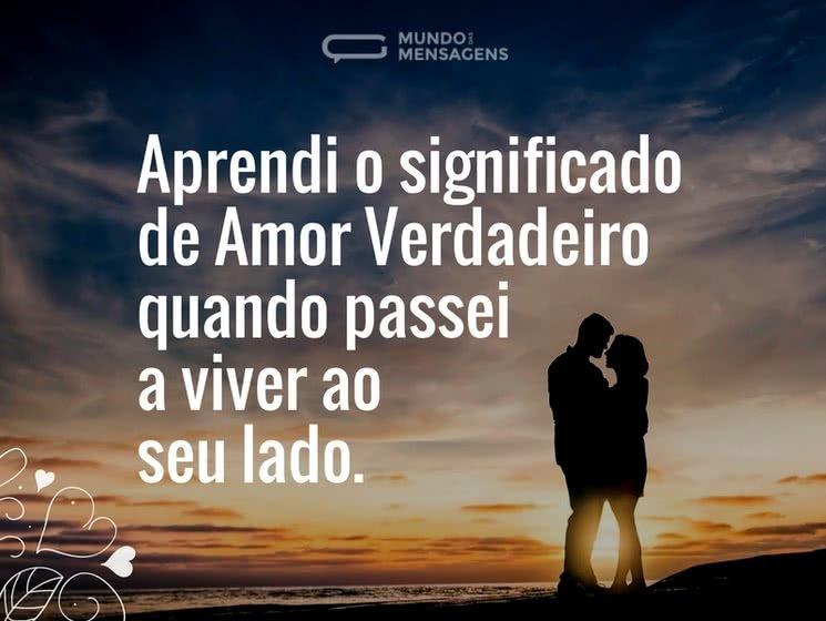 Significado de amor verdadeiro
