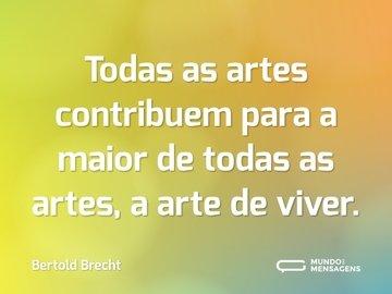 Frases De Artes Mundo Das Mensagens