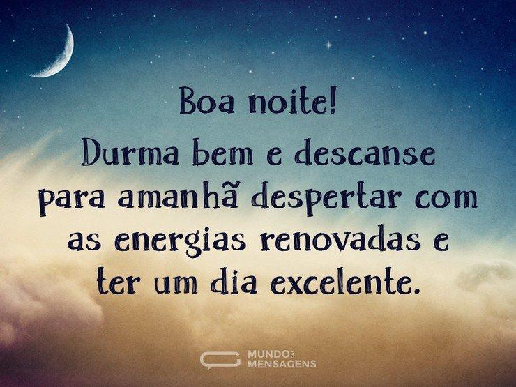 Estrela De Minas Mensagens Boa Noite: Durma Bem E Descanse