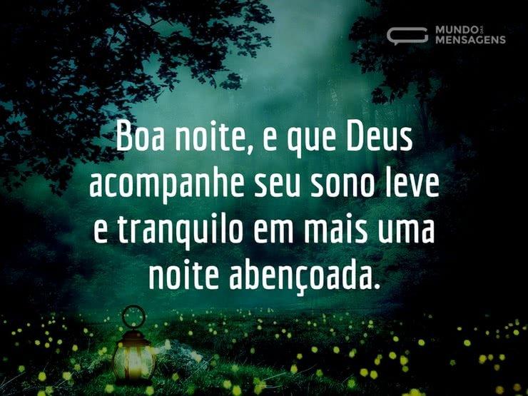 Imagens De Uma Noite Abençoada: Que Deus Acompanhe Sua Noite