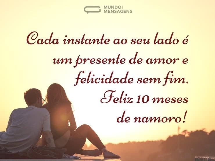 Frases De Fim De Namoro: Feliz 10 Meses De Namoro