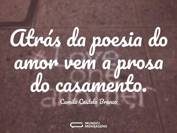 Amor Além Das Nuvens Poemas E Frases: Atrás Da Poesia Do Amor Vem A Prosa Do C