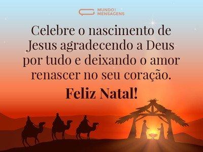 Celebrar o nascimento de Jesus