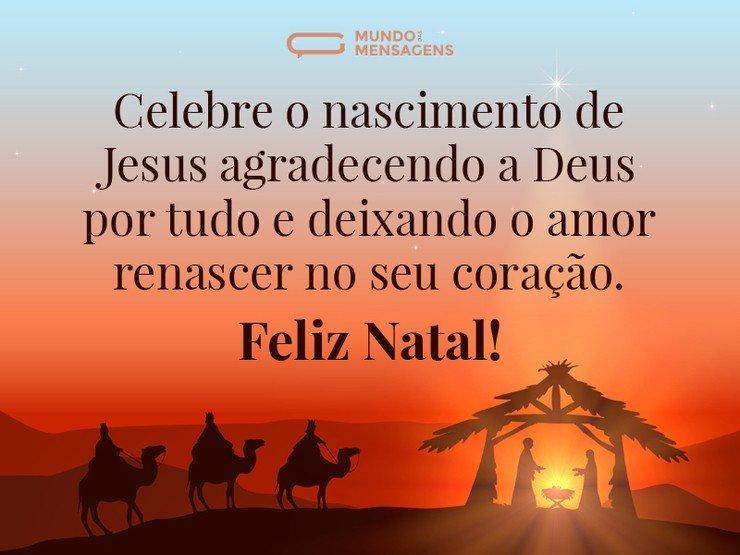 Celebrar O Nascimento De Jesus Mundo Das Mensagens