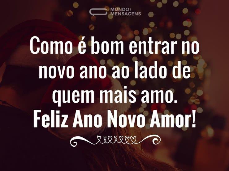 Mensagens De Ano Novo Com Amor: Entrar No Novo Ano Com O Amor De Sempre