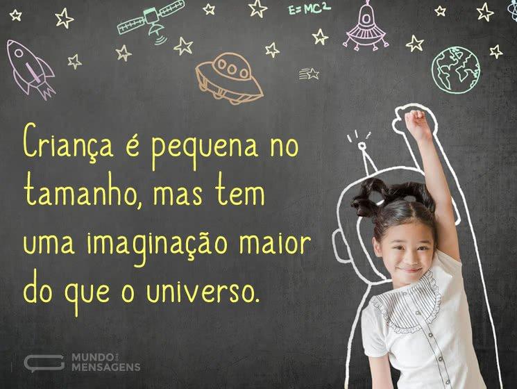 Imaginação de criança