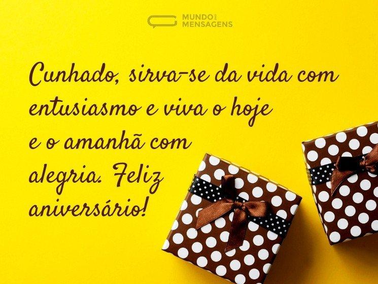 Mensagens De Aniversário Para Cunhado Para Desejar Parabéns