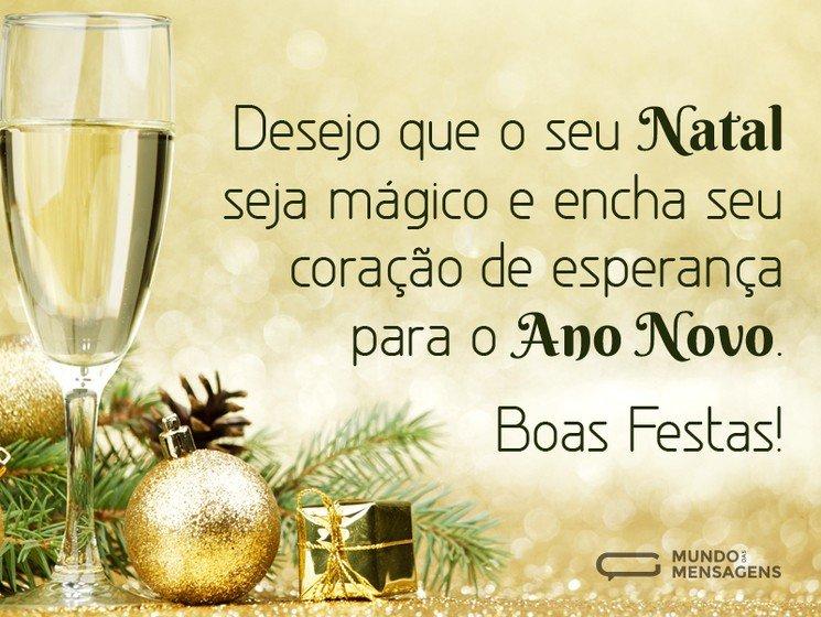 Desejos de Boas Festas