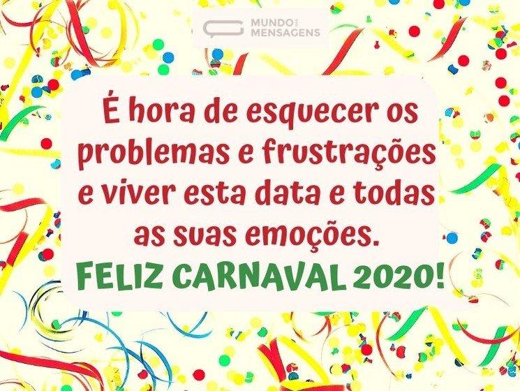 Feliz Carnaval 2018