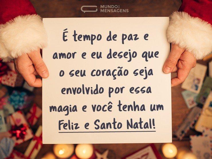 Mensagem De Natal Evangélica Para Amigos: Um Feliz E Santo Natal