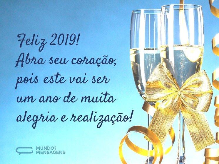 Um ano novo de muita felicidade