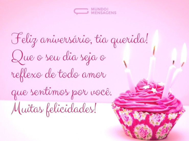 Feliz Aniversário Para Tia: Um Dia De Amor Para Minha Tia Querida