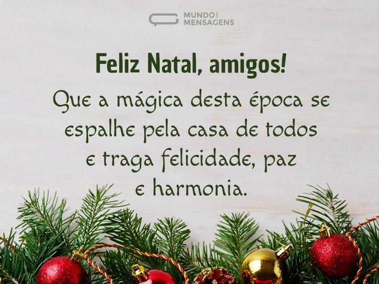 Mensagem De Bom Dia Para Amigos Que Todos Sejam Abençoados: SEU BLOG É VENHA VER NOTICIAS : Desejo Um Feliz Natal A