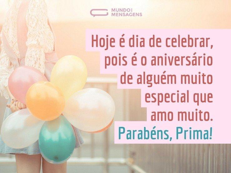 Mensagens De Aniversario Para Prima: Celebrar O Aniversário Da Minha Prima