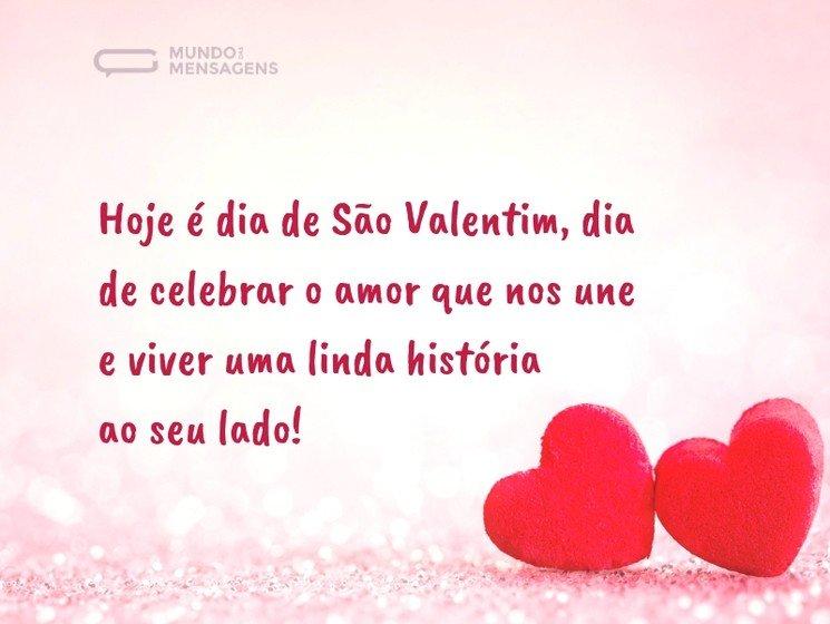 Mensagens Para O Dia De São Valentim Mundo Das Mensagens