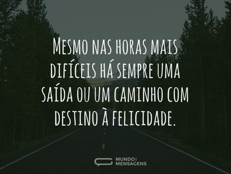 Com Destino à Felicidade