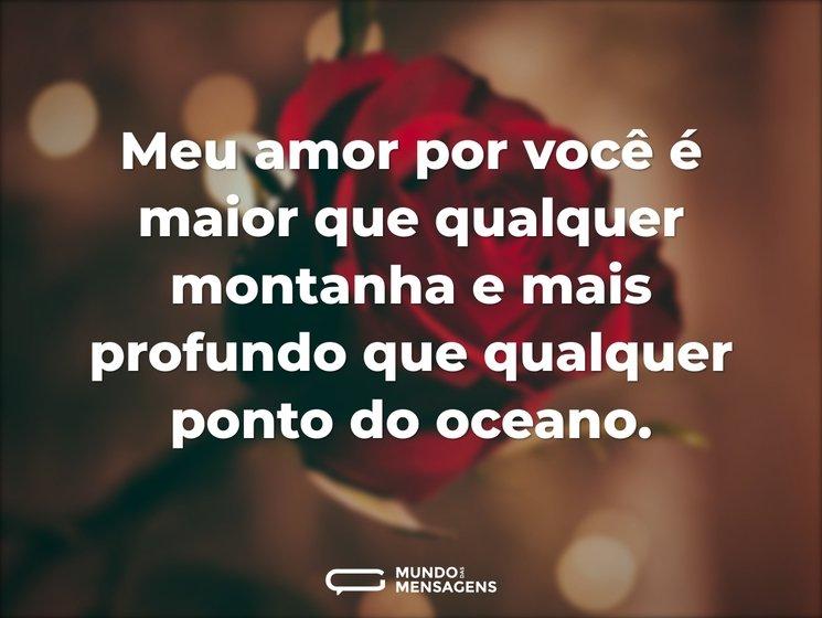 Meu Amor Por Você é Maior Do Que Qualque: Meu Amor Por Você é Maior Que Qualquer M