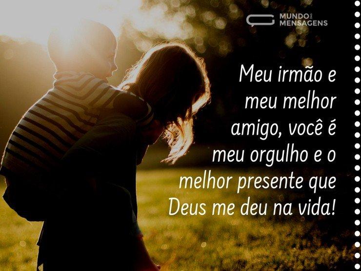 És Meu Amigo Colo De Deus: Irmão, Você é Um Presente De Deus