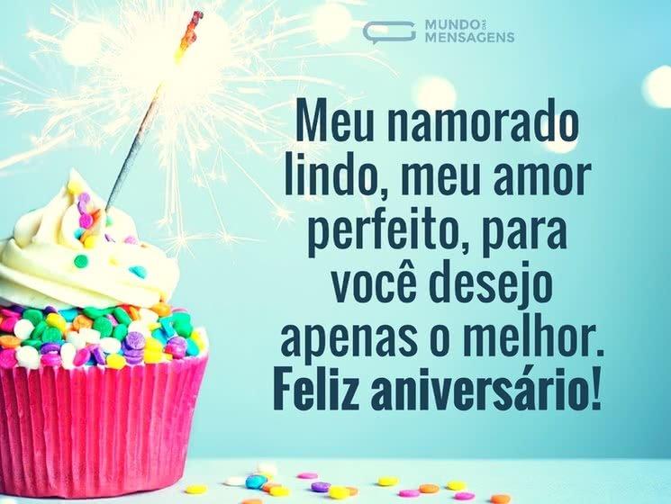 Feliz Aniversário, meu amor perfeito
