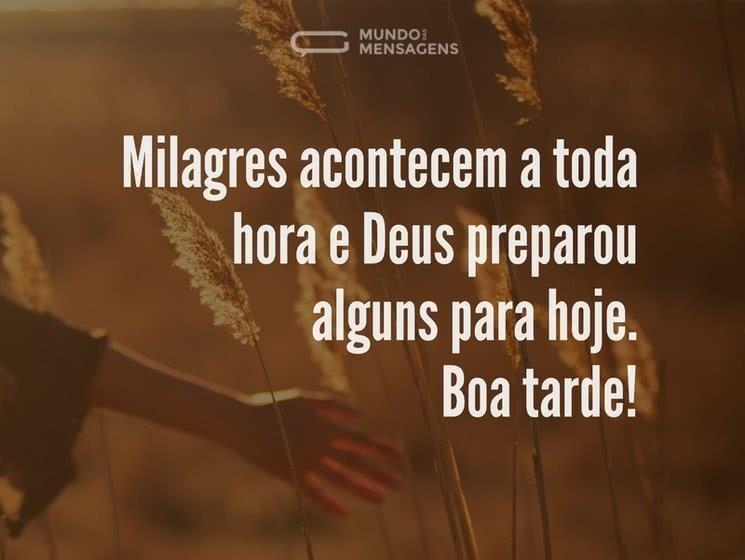 Mensagens De Boa Tarde Evangélicas
