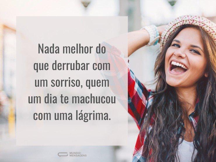 Escolha As Mais Lindas Frases De Amor Para Whatsapp E: Nada Melhor Do Que Derrubar Com Um Sorri