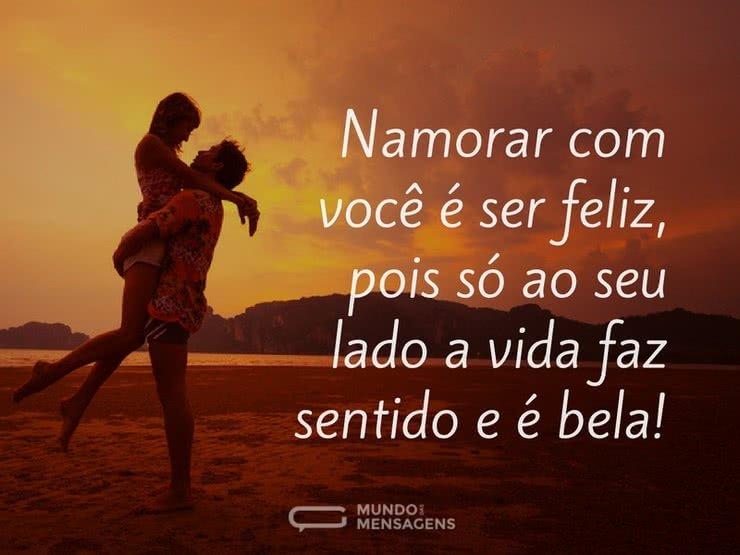 Namorar Com Você é Ser Feliz
