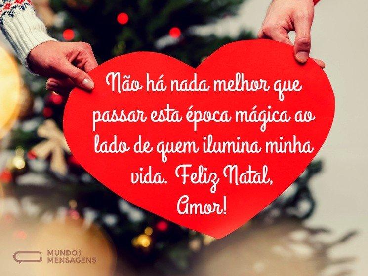 Mensagens De Natal Para Namorado Mundo Das Mensagens