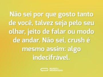 Frases Para O Crush Mundo Das Mensagens