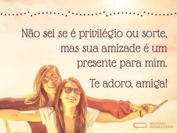 Sua Amizade é um Presente