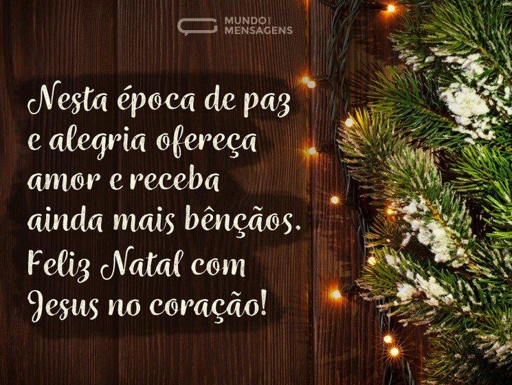 Mensagens De Natal Evangélicas Mundo Das Mensagens
