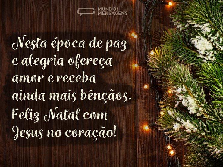 Natal Com Jesus No Coração