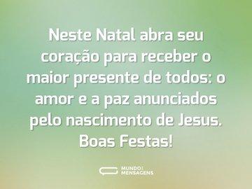 Frases Natalinas Mundo Das Mensagens