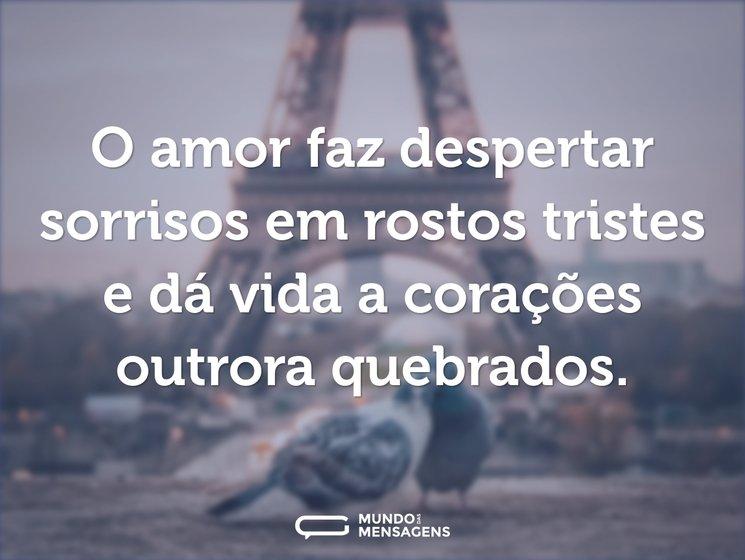Frases Lindas De Amor Mundo Das Mensagens